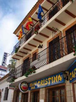 Frente de Hostal Cristina