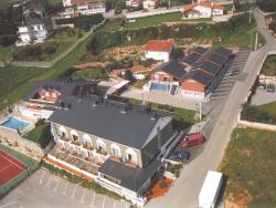 Fotografia aéra del Hotel Sandra II.